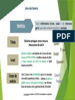 Notícia - característica e estrutura