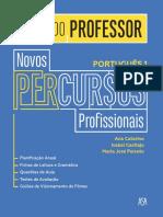 Novospercursosprofissionais Portugues 10 Guia Prof