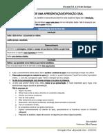 Plano-guia apresentação oral 6ºano