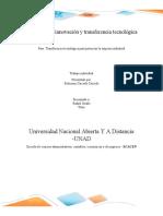 Gestión de la innovación y transferencia tecnológica..docx