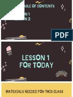 5 BASICO UNIT 3 Lessons 1-2