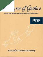 The Mirror of Gesture - Being the Abhinaya Darpana of Nandikesvara.pdf