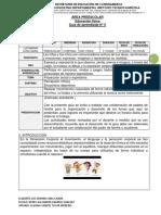 GUÍA 6.  D. CORPORAL - EDUCACIÓN FÍSICA - GRADO PREESCOLAR