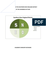 Southern New England Ministry Network Strategic Children?s Ministry