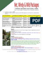 2011 Package Taman Negara 3d2n