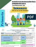 3°y 4° Primaria EF Semana 10 - LEF Antonio Preza