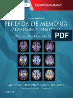 Pérdida de memoria, Alzheimer y demencia_ Una guía práctica para médicos, ed. 2 - Andrew E. Budson.pdf