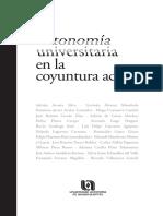 Educación  Autonomia Universitaria coyuntura.pdf