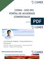 TLC China - Uso del Portal de Acuerdos Comerciales