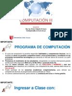 EXAMEN COMPUTACION III