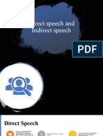 Direct and Indirect Speech Presentation