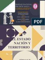 ESTADO,NACIÓN Y TERRITORIO