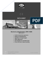 DATA SHEET EPN-110DN,-2