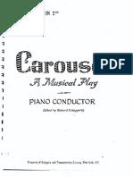 Carousel piano vocal