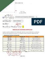 derivada de funciones elementales por tabla