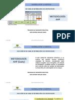 METODOLOGÍA AHP SELECCIÓN DE CANAL Y PROVEEDOR