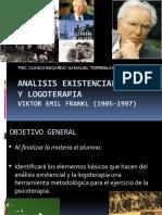 ANALISIS EXISTENCIAL Y LOGOTERAPIA
