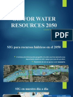 GIS FOR WATER RESOURCES 2050