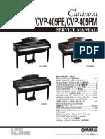 Service Manual Yamaha Cvp 407 Cvp 409pe Cvp 409pm