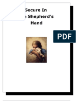 secure in the shepherd's hand