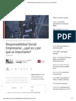Responsabilidad Social Empresarial ¿qué es y por qué es importante_
