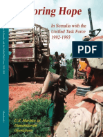 Restoring Hope in Somalia With the Unified Task Force 1992-1993