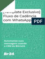 Fluxo de Cadência com WhatsApp - Br24