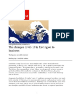The Economist - The changes covid-19 is forcing on to business 4-11-20