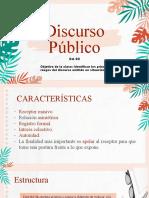 Discurso público  cuarto medio