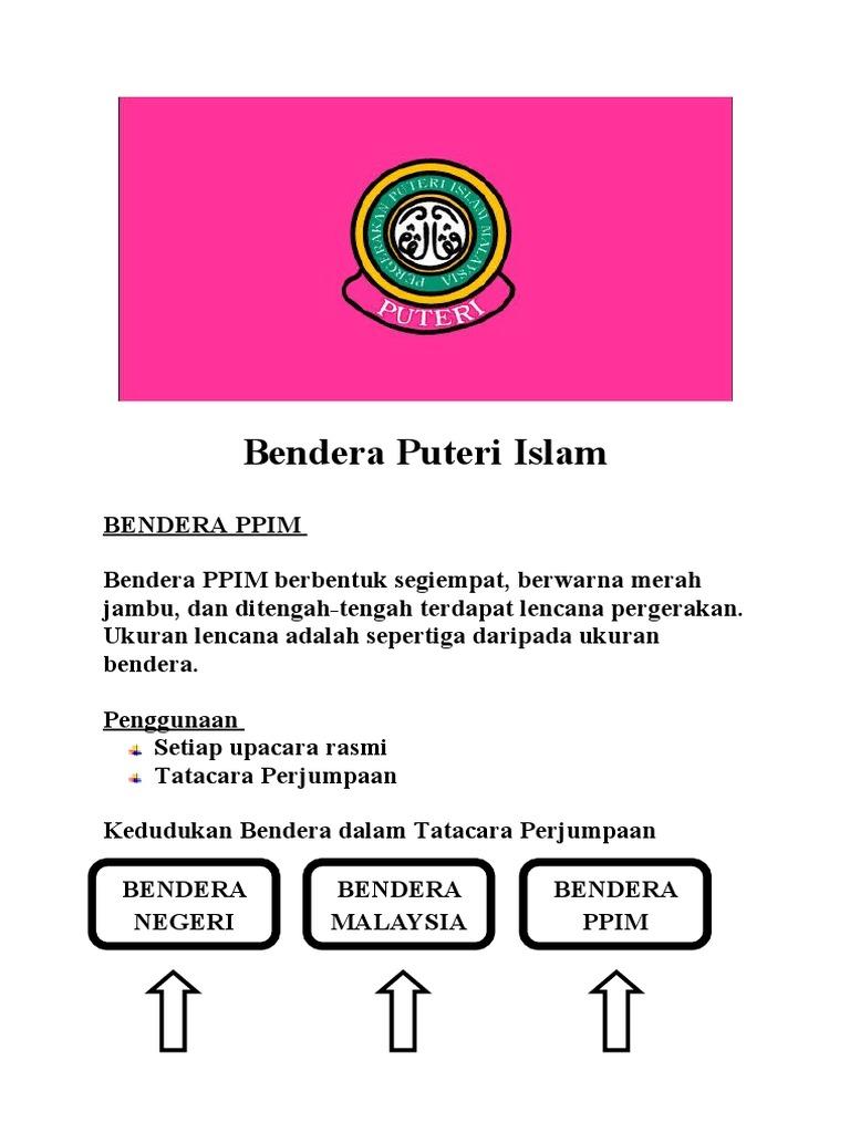 Bendera Puteri Islam