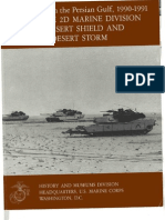 U.S. Marines in the Persian Gulf 1990-1991 With the 2d Marine Division in Desert Shield and Desert Storm