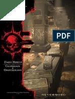 Справки правил игр FFG серии DARK HERESY. Инструменты повествования.