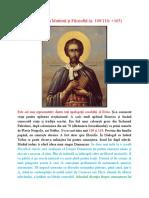 Curs 5 -Sf. Iustin Martirul și Filozoful