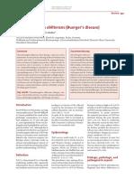 Ref 2. Thromboangiitis obliterans (Buergers disease)