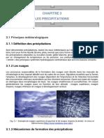 Chapitre3 - Les Précipitations