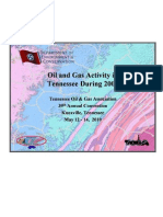 Presentation to the Tennessee Oil and Gas Association by the TN Geology Department