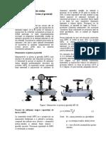 Descrierea instalaţiei etalon Manometrului cu piston şi greutaţi МП (2)
