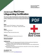 Lifeguarding Flyer