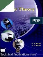 Circuit Theory By U.A.Bakshi- A.V.Bakshi
