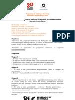Taller: Polilab: estructuras textuales en soportes NO convencionales. Imparte: Rocío Cerón