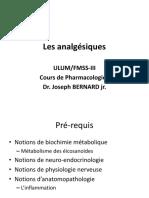 Les analgésiques (7)