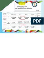 GRADE 6 CLASS PROGRAM