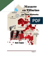 Masacre en Villarino, la otra historia Final tipo libro 1