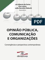 OPINIÃO PÚBLICA, COMUNICAÇÃO E ORGANIZAÇÕES