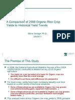 Organic Historical Comparison 2-5-11