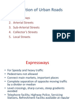 PPT - Classification of Urban Roads