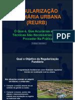 Regularização Fundiária Urbana - REURB
