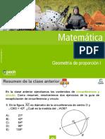 Clase 16 Geometría de proporción I