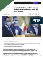 Școlile din București rămân închise. Berbeceanu_ Nu sunt introduse măsuri noi. Rata de infectare este de 3,91 la mie.pdf
