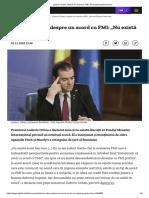 """Ludovic Orban, despre un acord cu FMI_ """"Nu există acest bau-bau"""""""